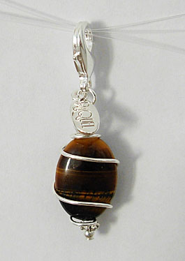 tiger eye pawmulet
